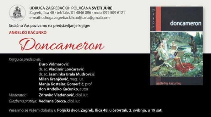 Anđelko Kaćunko: Doncameron