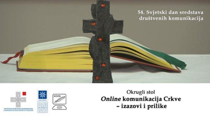 Okrugli stol Online komunikacija Crkve