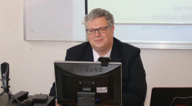 Doktorirao Gilbert Hofmann